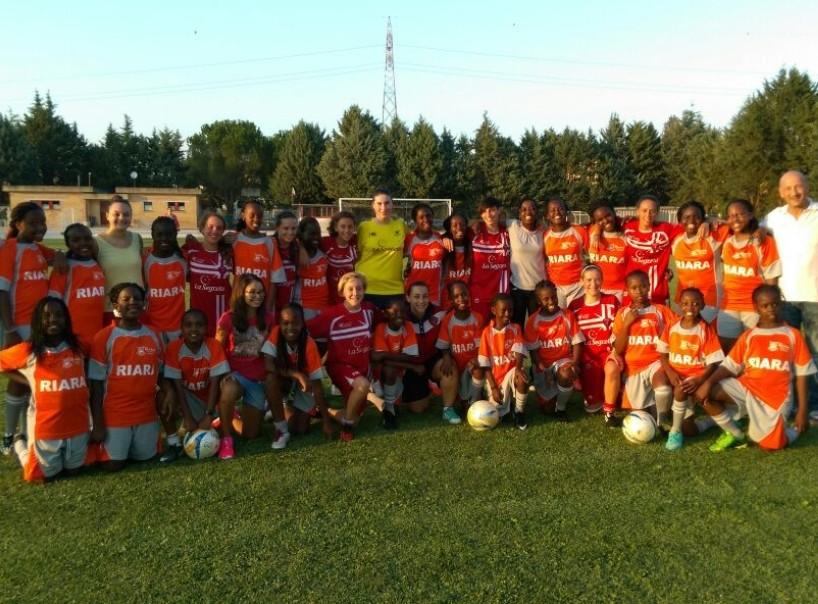 La Grifo Perugia tra calcio e sociale