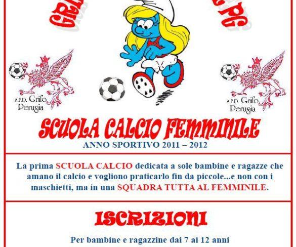 Si parte con la scuola calcio al femminile