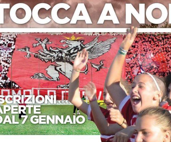 Iniziano le iscrizioni per la nuova squadra femminile del Perugia Calcio