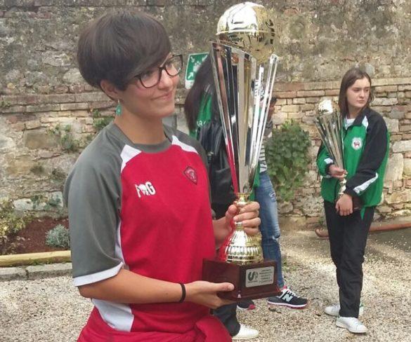La Primavera della Grifo Perugia premiata per la vittoria nel campionato regionale Csi