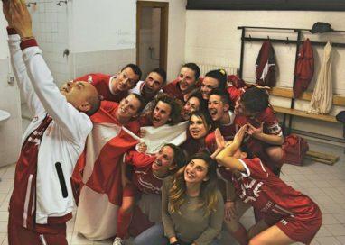Grifo Calcio A5 in paradiso: vinto derby, campionato e conquistata la serie A
