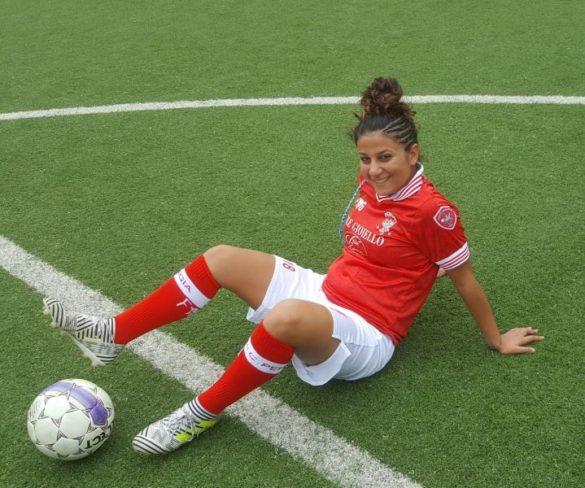 """Sofia Pellegrino: """"Il calcio è divertimento e allegria"""""""