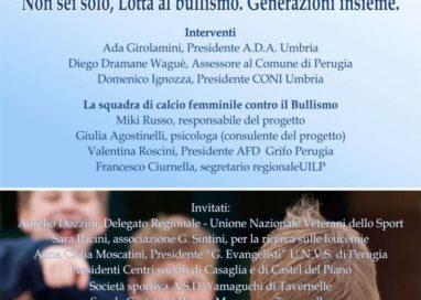 La Grifo Perugia si schiera contro il bullismo